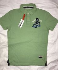 Superdry Tshirt - Superdry State Pique Polo Shirt Neck Tshirts - Clearance SALE!
