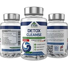 #1 Detox Cleanse Herbal Formula ★ 14 All Natural Powerful Detox
