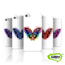 Butterfly Splatter Case For Apple iPhone 5/5s Butterfly Protective Phone Cover