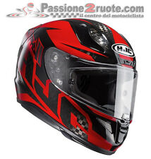 Hjc Rpha 11 Carbon Lowin black red nero rosso