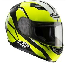 Casco integrale Hjc Cs15 Sebka nero giallo black yellow XS S M L XL