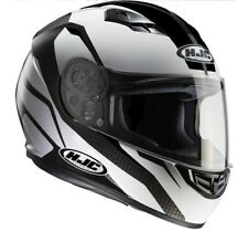 Casco integrale Hjc Cs15 Sebka bianco nero white black XS S M L XL