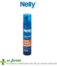 NELLY ESPUMA ANTIENCRESPAMIENTO EXTRAFUERTE 75ML ANTI FRIZZ MOUSSE EXTRA STRONG