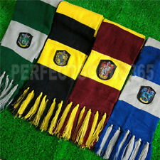 Harry Potter Gryffindor Slytherin Hufflepuff Ravenclaw Scarf Tattoo Gloves UK