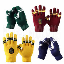 Harry Potter Gryffindor Slytherin Hufflepuff Ravenclaw Gloves Winter Cosplay UK