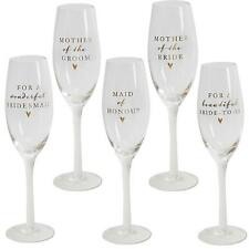 Boxed Amore Wedding Champagne Flute with Gold - Mother Bride / Groom Bridesmaid