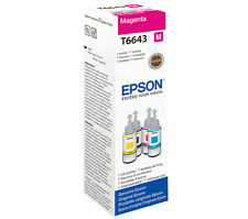 T6643 Magenta Epson Ecotank Printer Ink C13T664340