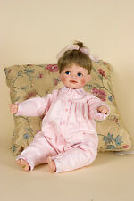 Baby porcelain soft body collectible baby girl doll b Connie Walser Derek