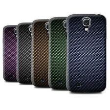STUFF4 Phone Case/Cover for Samsung Galaxy S4/SIV /Carbon Fibre Effect/Pattern