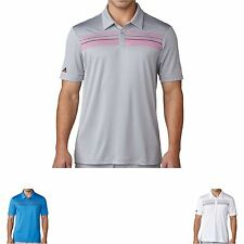 Adidas Climacool Chest Print Golf Polo Shirt