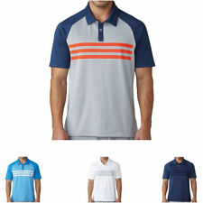 Adidas Climacool 3-Stripes Competition Golf Polo Shirt