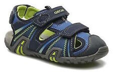 GEOX BOYS SANDALS - SAND KRAZE - NAVY