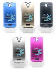 it cover custodia rigida in alluminio tpu gel interni alcatel pixi 4 - 5.0 3g 5""