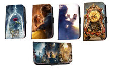 Beauty and the Beast faux leather flip phone case Inspired Belle Rose for iPhone