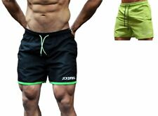 GYM SHORTS BODYBUILDING TRAINING RUNNING MENS SHORT WORKOUT