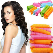 18pcs HOT Hair Rollers Snail Rolls Styling Curler Tools Magic Hair Circle Fast