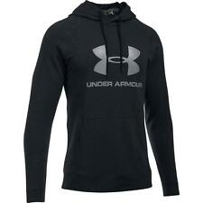 Under Armour Mens Sportstyle Logo Cotton Hoodie Training Fitness Workout Top