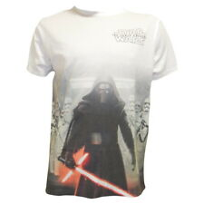 Star Wars Kylo Ren & Troopers Adult White T Shirts - Official striking design!