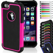 Case Cover for iPhone Models  Hard SHOCKPROOF Back Silicone Rubber