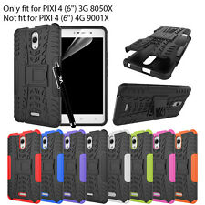 Alcatel Pixi 4 (6'') 3G 8050X HeavyDuty Armour ShockProof Hard Case Cover Stand