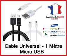Cables micro USB 1m Universel Recargar + datos Samsung Htc Lg Wiko Nokia Sony