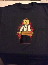 Shaun of the Dead LEGO Shaun T shirt 3 couleurs Hot Fuzz CORNETTO trilogie