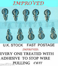 10 NEEDLE - THREADERS FOR HAND OR MACHINE NEEDLES.