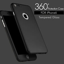Ultra Thin 360° Full Body Protective Case For iPhone 6/6S/7/7PLUS With Tempe