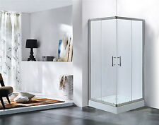 Shower Steam Bath Shower Cubicle LXW-6126 incl. Shower tray in 2 Sizes