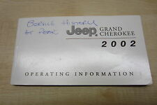 JEEP GRAND CHEROKEE 1999-2004 Owners Manual Handbook + SERVICE BOOK Pack!!!