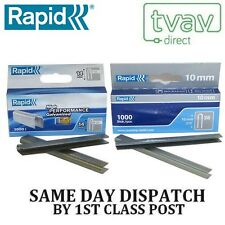 Rapid 10mm R28 and 14mm R36 Cable Staples