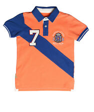 XnY Boy's Peach Polo Sport T-Shirt (TP 1030168)