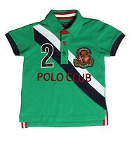 XnY Boy's Green Polo Sport T-Shirt (TP 1030165)