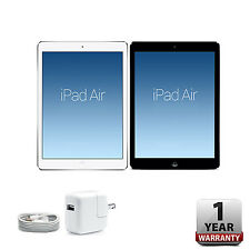 Apple iPad Air 16GB/32GB/64GB/128GB Silver/Space Gray Wi-Fi 1-Year Warranty