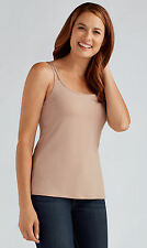 Amoena 'Valletta' Post Surgery Pocketed Mastectomy Strappy Camisole Top - NUDE
