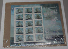 Old Ironsides Marshall Islands US Frigate Constitution Ship 1997 15 Stamp SEALED