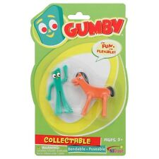 Mini Gumby & Pokey Set Bendable Poseable Classic