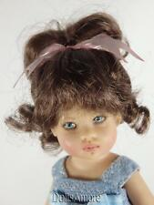 BROWN BLACK DOLL WIG SIZE 4