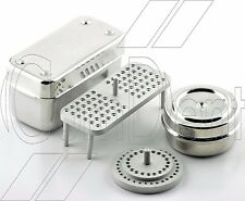 ComDent Dental Endodontic Box with 72 or 52 Holes Stand Stainless Endo Box CE