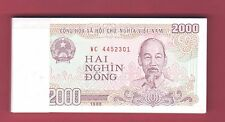 Vietnam, Vietnamese - UNC Banknotes - 2000 Dong - 1988 -  Lots of 1,5, 10 and 20