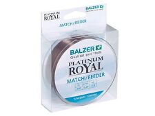 Nuovo 2017! Balzer Platinum Royal Match/Feeder / 200m / monofilament