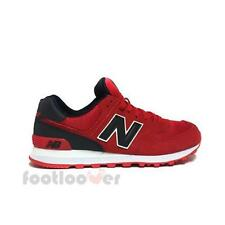 Scarpe New Balance ML574CND Classics Traditionnels Uomo Sneakers Casual Red Blac