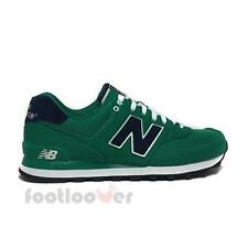 Scarpe New Balance ML574POG Classics Traditionnels Uomo Sneakers Casual Green Na