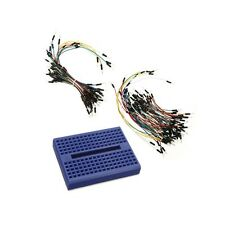 SYB-170 Blue Mini Solderless Prototype Breadboard With 140Pcs Jump Wire For Ardu