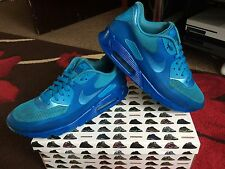 Nike air max 90 PRM hyperfuse blue glow size 9