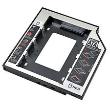 """Sale Aluminum 2Nd Hdd Caddy 12.7Mm 2.5"""" Sata 3.0 Ssd Hdd Case Enclosure With Led"""