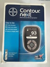 Bayer Contour Next Blood Glucose Monitoring System Kit New 3/17 Exp Date