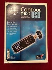 Bayer Contour Next USB Blood Glucose Monitoring System New Sealed