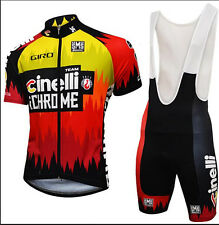 New Men Bike 2016 Short Sleeve Tops Jersey Bib Shorts Kits Cycling Ropa Ciclismo