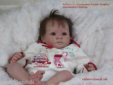 """REBORN DOLL KIT, 20"""" - WITH DOE SUEDE BODY!- """"CHRISTINE """""""